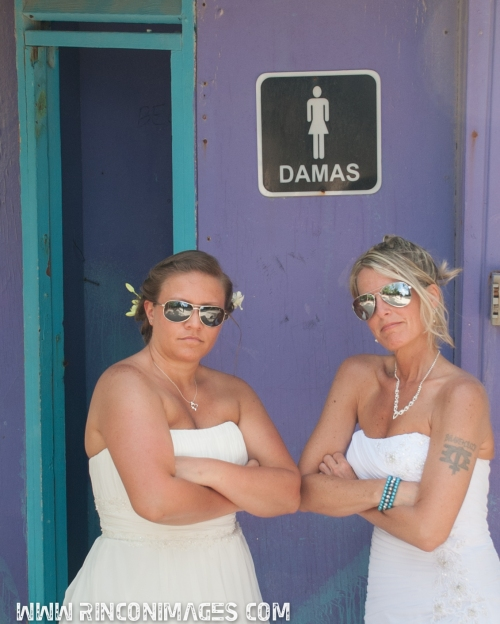 It's all about the ladies! LGBT and Same sex friendly wedding photographer.