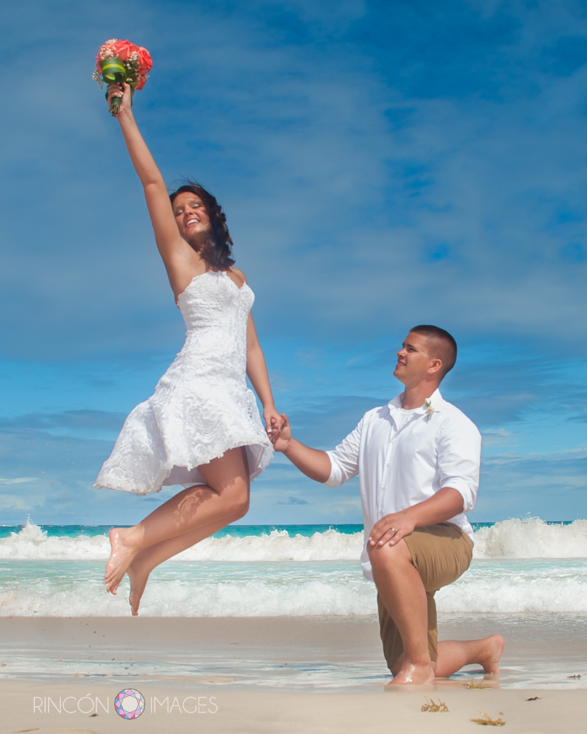 Flamenco Beach wedding on Culebra Island – Lyndsay ...