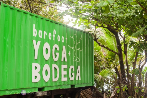 The Barefoot Yoga studio in Rincon, Puerto Rico.
