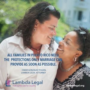 Yolanda Arroyo Pizarro & Zulma Oliveras Vega another couple represented by Lambda Legal that I photographed that same day. I just love the light in this one.